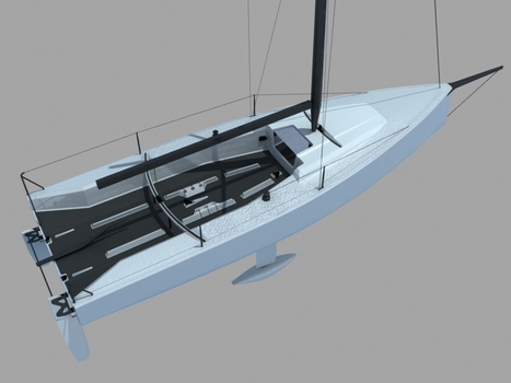K8 - the world's first winged sail sportsboat | Soft Wing Sails | Scoop.it