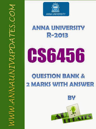 CS6456 Object Oriented Programming Oops Lecture Notes and Question Bank - 2 mark with answers ~ Anna University Nov Dec 2014 Results- Auupdates | Anna UNiversity Updates | Scoop.it