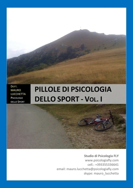 Pillole di psicologia dello sport: Ebook gratuito | Psicologia e sport | Scoop.it