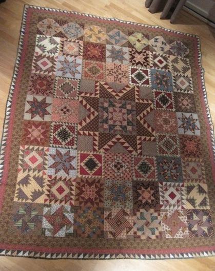 Lar's Civil War Tribute Quilt | The Marcus Fabrics Blog | Quilts-CivilWar | Scoop.it