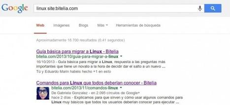 Trucos para realizar búsquedas más eficientes en Google | Utilidades TIC para el aula | Scoop.it