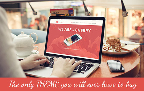 Cherry – A Multipurpose One & Multi Page Theme | eCommerce Website Templates | Scoop.it