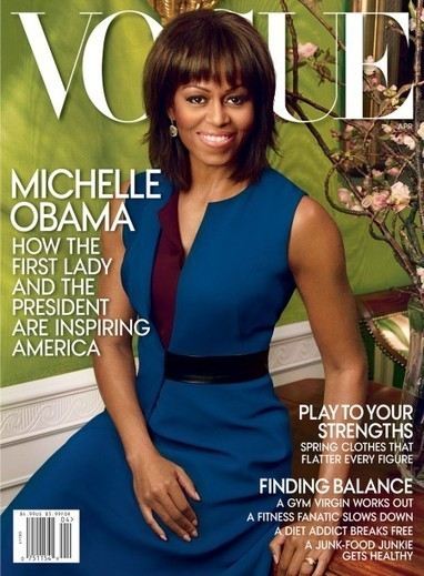 Michelle Obama covers Vogue USA : by Styling Amsterdam   Love the fashion   Scoop.it