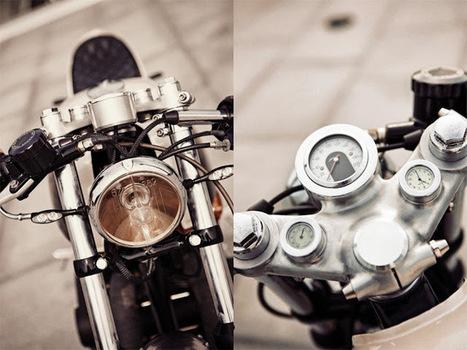 Honda CB500T Cafe Racer - Grease n Gasoline   Smotra-moto.ru   Scoop.it