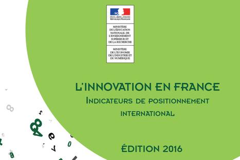 L'innovation en France : indicateurs de positionnement international - ESR : enseignementsup-recherche.gouv.fr | innovation | Scoop.it