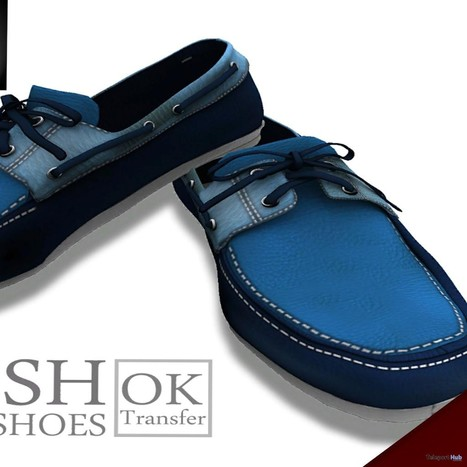 Blue Boat Shoes For Male Group Gift by Gabriel | Teleport Hub - Second Life Freebies | Second Life Freebies | Scoop.it