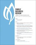 Read Family Business Review's December Issue! | Yrittäjyystutkimuksen poimintoja | Scoop.it