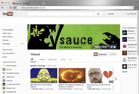 Channel Art Guidelines - YouTube Help | Social Media News and Info | Scoop.it