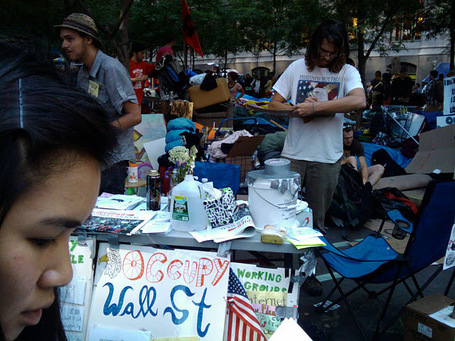 Occupy Wall Street: Disruption & Leaderless Leadership | Leading Lightly - Managing Mindfully | Scoop.it