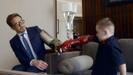 1. 'Iron Man' Prosthetic Arms | Qmed | Innovation in Health | Scoop.it