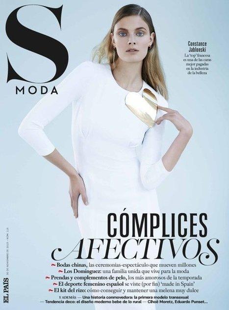 Constance Jablonski Wears Sleek Style in S Moda by Eric Guillemain | Moda | Scoop.it