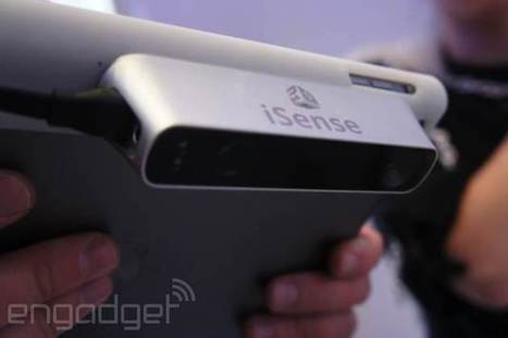 Here's that $500 3D scanner for the iPad   Laanguage Learning and Technology   Scoop.it