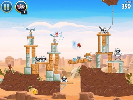 Angry Birds Star Wars HD - 30 best iPad games | Go Go Learning | Scoop.it