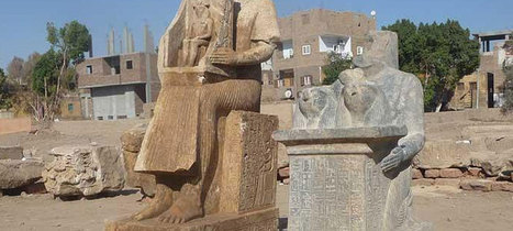 Statues discovered at ancient Hermonthis in Egypt | Egyptology and Archaeology | Scoop.it