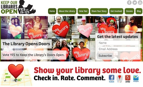 Libraries Yes! A Place-Based Community Advocacy Campaign | #hyperlib | Scoop.it