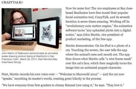 Macworld/iWorld CrazyTalk7 & FaceFilter3 | Wolf and Dulci Links | Scoop.it