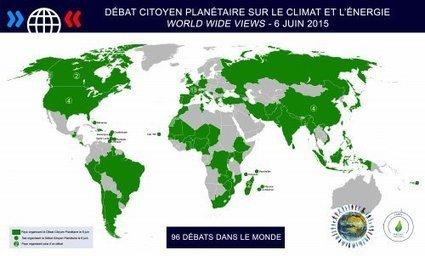 Débat Citoyen Planétaire (World Wide Views) sur le climat et l'énergie - [CDURABLE.info l'essentiel du développement durable] | CDURABLE.info | Scoop.it