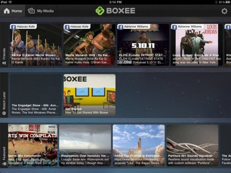 Boxee launches iPad app, new Box update, media server and bookmarklet today | TV Everywhere | Scoop.it