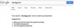 Pourquoi DIGG a complètement disparu de l'index de Google ?   Referencement go   Scoop.it