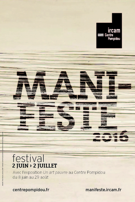 Le site ManiFeste-2016 est en ligne ! | Focus Ircam | Scoop.it
