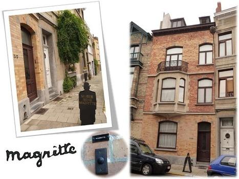 Bruxelles - Bruxellons: Magritte, son musée privé et l'histoire d'Olympia | Toiles de rêves | Scoop.it