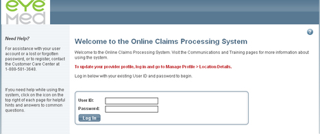 EyeMed Provider Login | sardis | Scoop.it