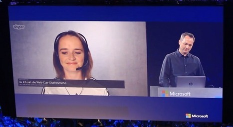 Babel Fish? Skype Translator provides instantaneous translations for videoconferences | iEduc | Scoop.it