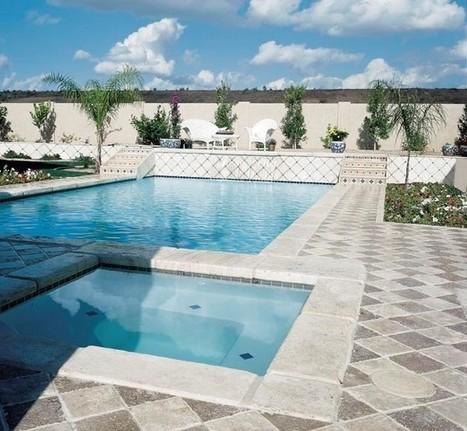 Arizona Travertine Pool Coping and Patio Pavers Designs | Natural Stone Travertine Tiles | Scoop.it