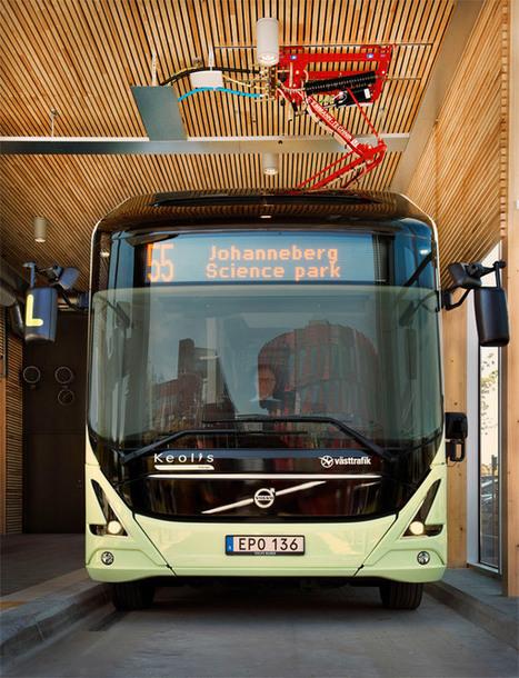 Autobus électrique : lancement de la ligne 55 à Göteborg, en Suède | Habitat et ville durables | Scoop.it
