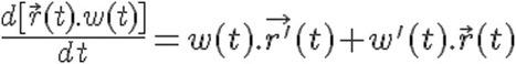 3.3 Derivación de funciones vectoriales y sus propiedades | Calculo Vectorial | Scoop.it