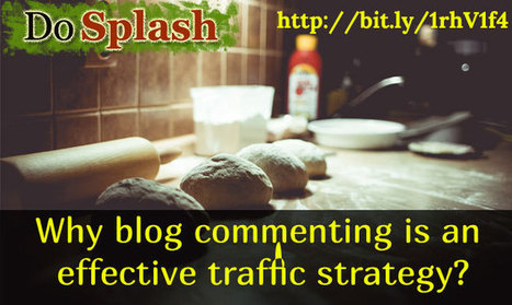 Why blog commenting is an effective traffic strategy? | Problogging Tips | Scoop.it