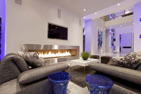 Using Colour to Create a Welcoming Living Room Atmosphere | My ... | Home decoration ideas | Scoop.it