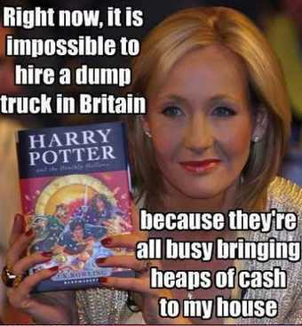 J.K. Rowling was the first person to become a billionaire by writing books. | All Kind of Books Preview for You | Scoop.it