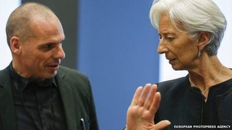IMF's Lagarde: Greece in default if debt deadline missed - BBC News | Ponteconomics13 | Scoop.it