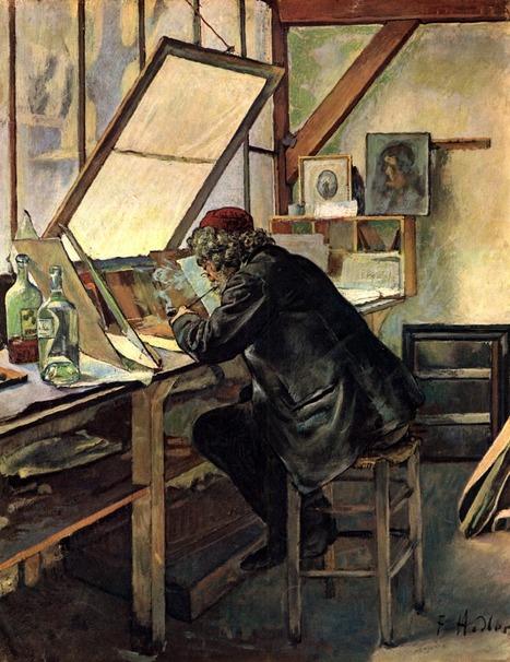 Ferdinand Hodler - Artworks | Artistes d'hier, maîtres d'autrefois... | Scoop.it