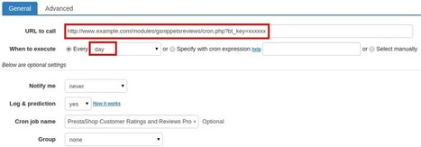 How to set up cron job for PrestaShop Customer Ratings and Reviews Pro + Google Rich Snippets Module   Prestashop modules   Scoop.it
