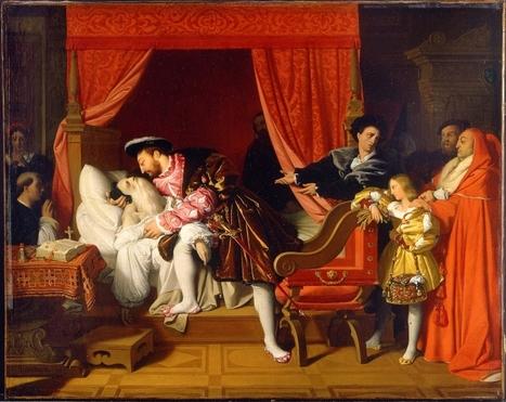 #122 ❘ Les derniers soupirs de Léonard de Vinci le 2 mai 1519 (tableau peint par Ingres en 1818) | # HISTOIRE DES ARTS - UN JOUR, UNE OEUVRE - 2013 | Scoop.it