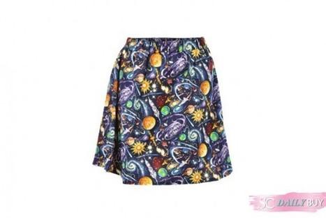 Daily Buy: Milky Way Space Print Skirt | StyleCard Fashion Portal | StyleCard Fashion | Scoop.it