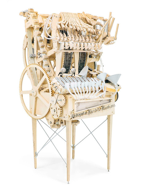 Wintergatan's wooden machine plays music with marbles | Scoopamo awesome | Scoop.it