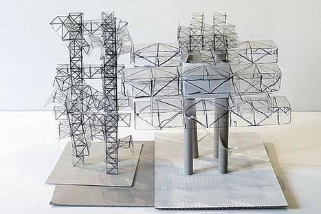 Yona Friedman dans sa «ville spatiale»   Art contemporain et culture   Scoop.it
