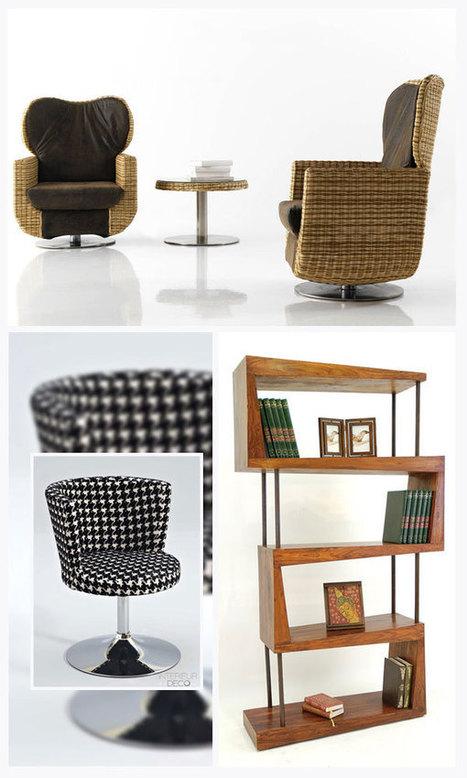 Une sélection de mobilier et déco intérieur   Design d'objets   Scoop.it