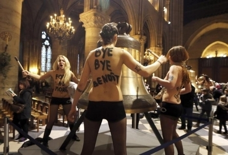 Topless activists acquitted over raid at Paris Notre Dame Cathedral   occupy wall street   Scoop.it