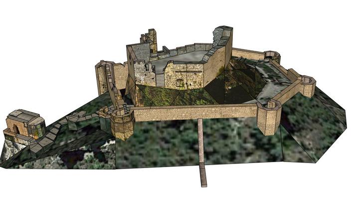 Modélisation 3D du château d'Aguilar | #TerresCathares | Scoop.it