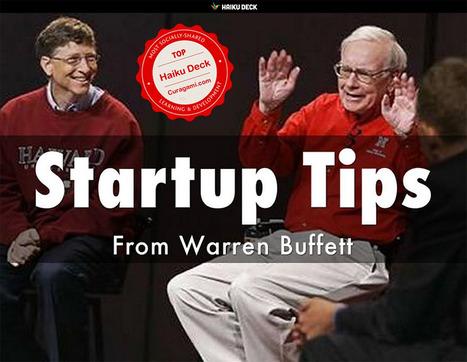 Rich Get Richer: Warren Buffett Tips For Startups @HaikuDeck Lesson | Startup Revolution | Scoop.it