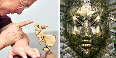 Surface to Structure: An Origami Exhibition Featuring 80 Paper Artists at Cooper Union | Culture and Fun - Art | Scoop.it