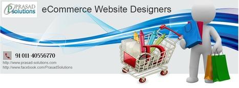 Hire excellent eCommerce Website Designers from Prasad Solution   eCommerce Website Designers   Scoop.it