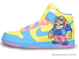 Wario Nike Dunk Super Mario Shoes [super-mario-shoes-1009] - $76.00 : DC Comic Dunks ,Marvel Comic Dunks, Superhero Nike Dunks Shoes ,Superman ,Batman ,Spiderman,Captain America Nikes | Hello Kitty Nike Dunks | Scoop.it