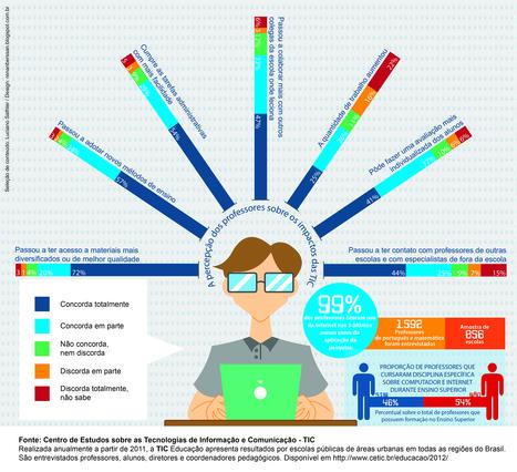 A percepção dos professores sobre os impactos das TIC | facebook | Scoop.it