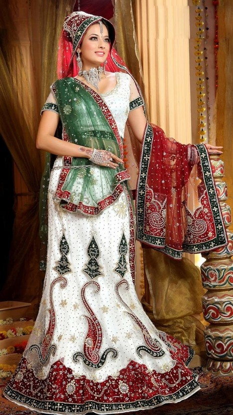Attractive Multi Colored Lehenga Chol Collection 2013 | Fashion and Beauty | Scoop.it