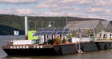 Science Barge: Tο υδροπονικό θερμοκήπιο που επιπλέει… ~ Hydroponic   Greenhouse Hydroponic Vegetables   Scoop.it